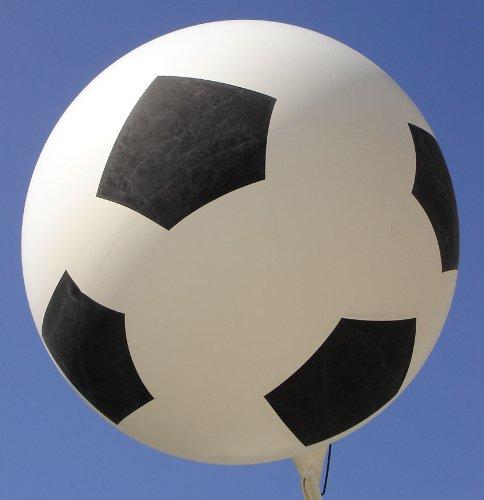 Riesenluftballon 55cm Fussball